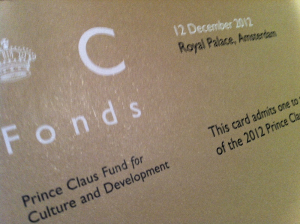 prince Claus awards.JPG