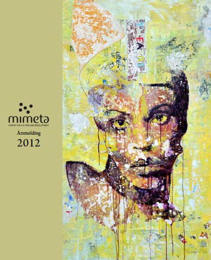 Front page, Annual report of Mimeta
