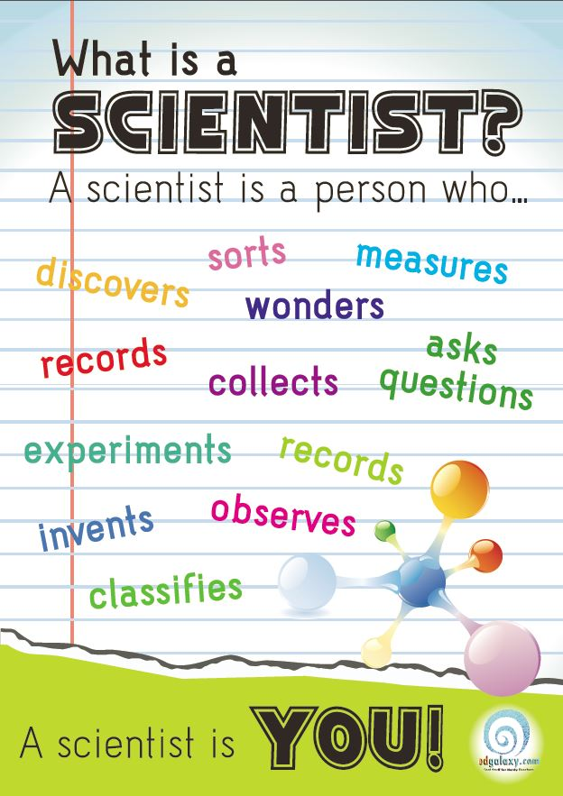 photograph regarding Printable Classroom Posters known as What is A Scientist? Absolutely free Clroom Poster Edgalaxy