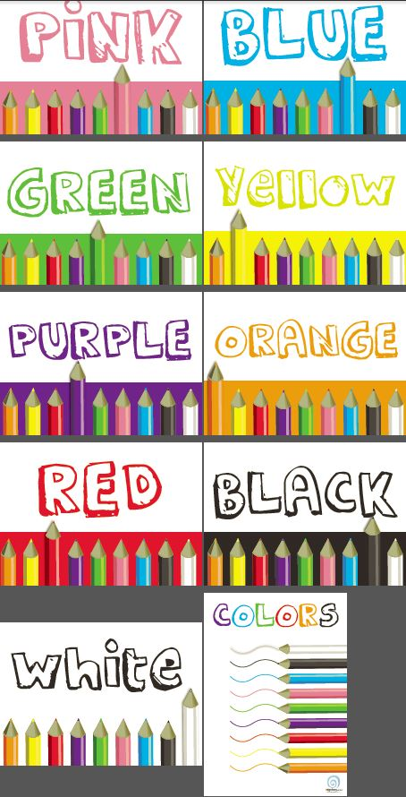 Decorate Science Classroom ~ Colors classroom poster series — edgalaxy cool stuff for
