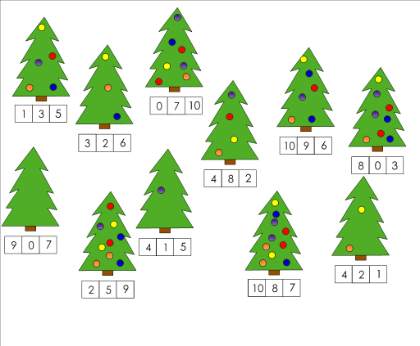 Addition Worksheets christmas addition worksheets kindergarten : Christmas Maths Activity Year 4 - kindergarten math worksheets ...