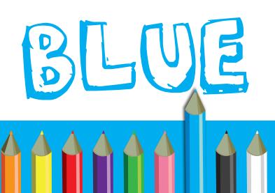 10 poster classroom colors set