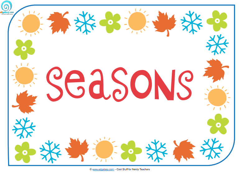9 Poster seasons poster