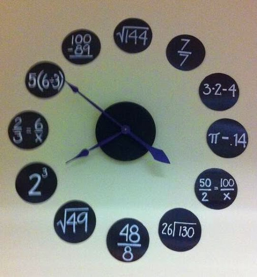 Awesome clock to teach students maths concepts — Edgalaxy