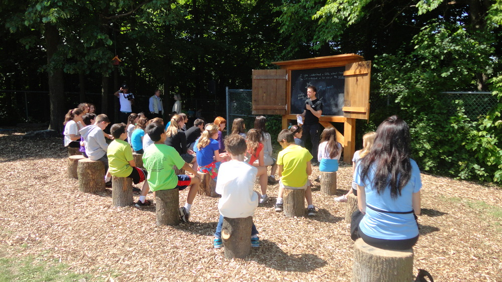 How To Build And Outdoor Classroom At Your School Edgalaxy Cool