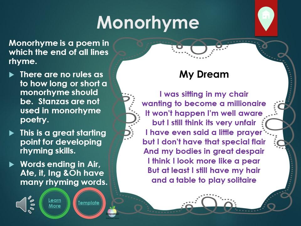 Monorhyme