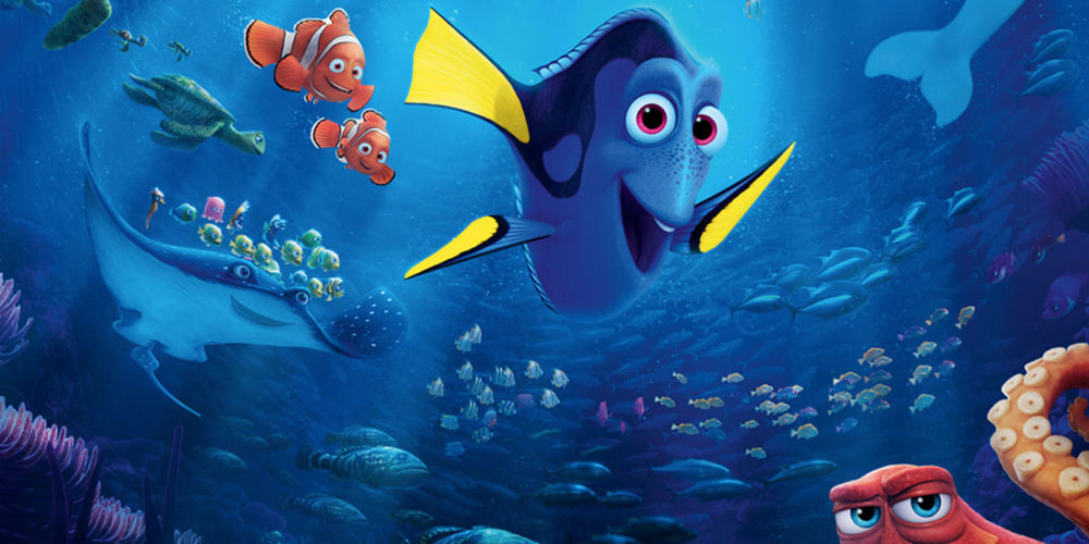 Finding Dory represents nearly thirty years of innovation and computer science.