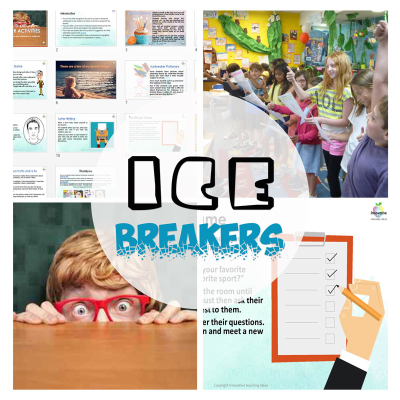 14 CLASSROOM ICEBREAKERS BUNDLE