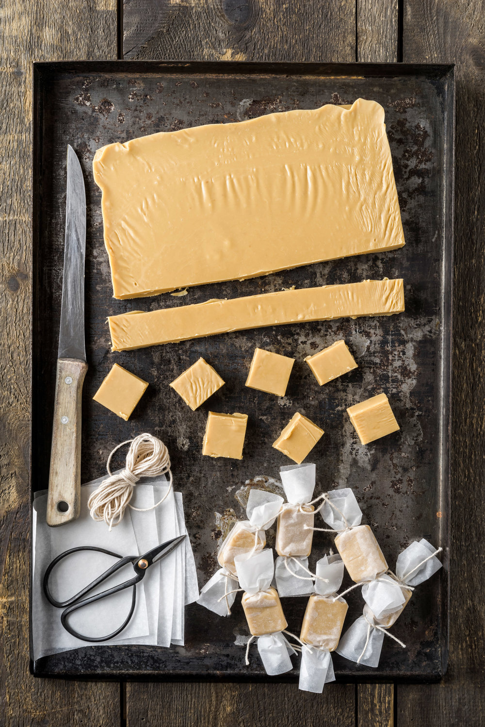 Karamell (Fudge) - foodphotolove.de