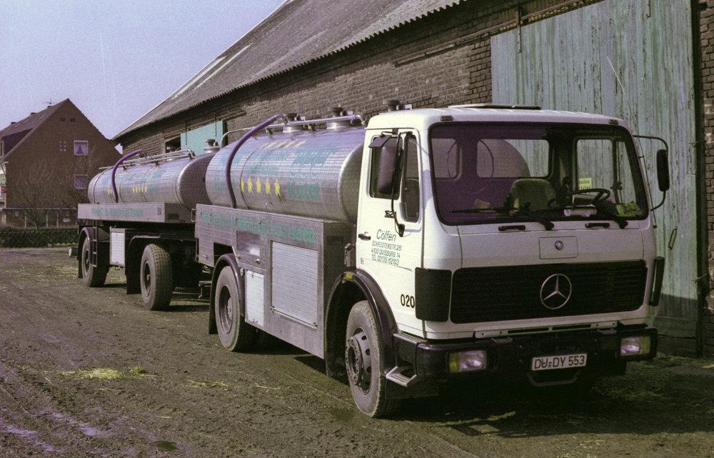 Milchsammelwagen -