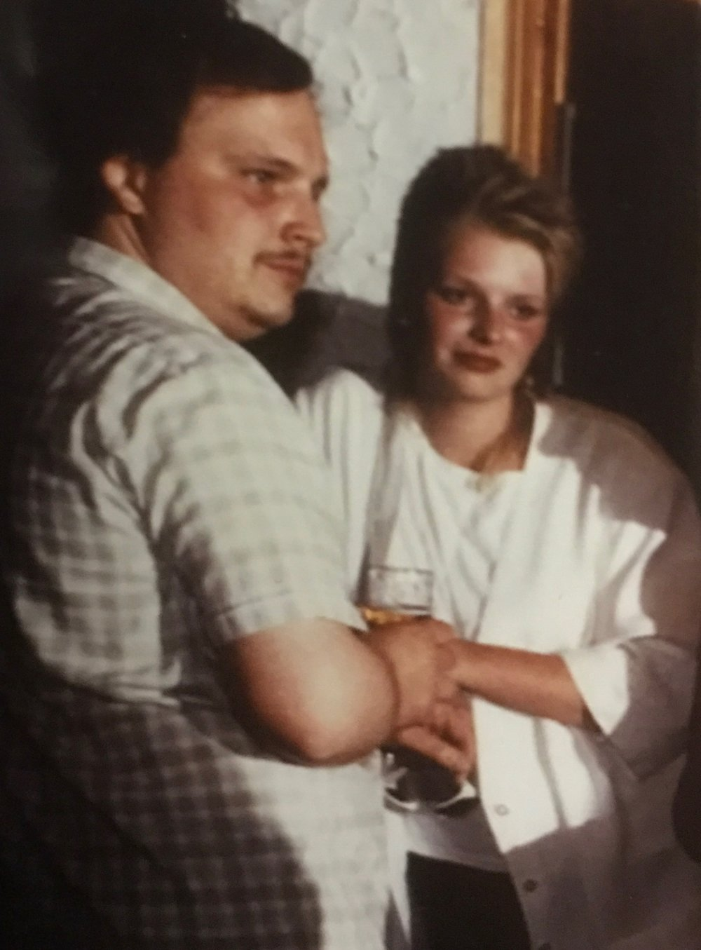 - Hermann und ich in den 80er-Jahren