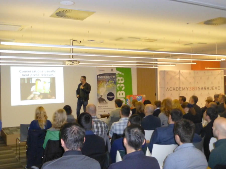Presentation from #SarajevoFTW. May 17-18. Sarajevo, BiH.