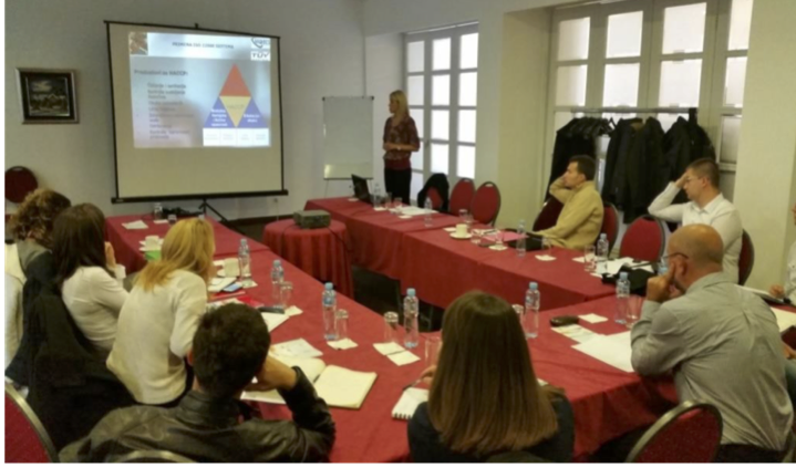 Capacity-building Training. Belgrade, Serbia