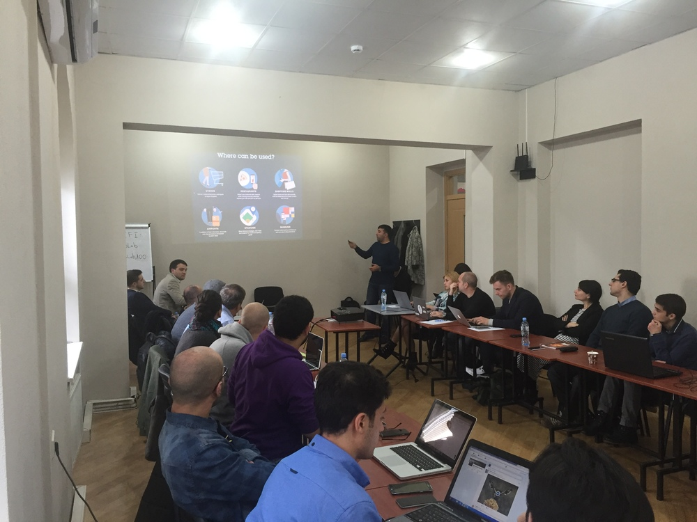ABOVE: Traction Camp Tbilisi event participants (Nov 27-29)
