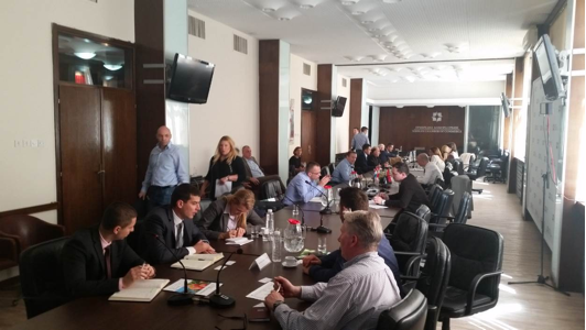 (ABOVE) B2B Meetings in Belgrade for companies from Serbia ad B&H