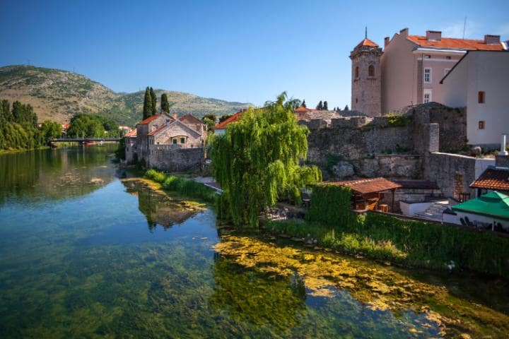 The picturesque southerly city of Trebinje, which is surrounded by vineyards and independent wineries CREDIT: MAXIM MALEVICH - FOTOLIA/MALEWITCH