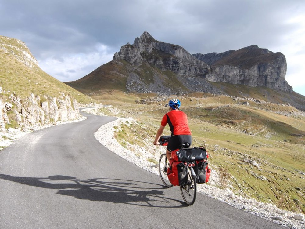 Mountain biking in Montenegro's Durmitor national park. Image by © courtesy of Montenegro National Tourism Organization