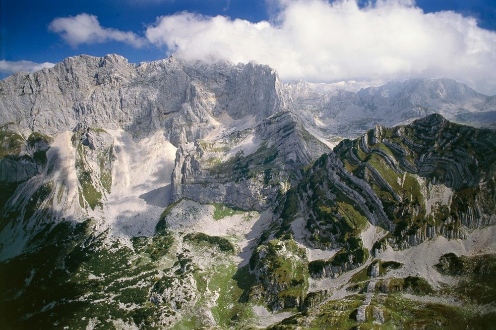 On Day 13 of the MTS trek, you'll find yourself in Durmitor National Park, a UNESCO World Heritage Site located in Montenegro (DeAgostini/Getty Images)