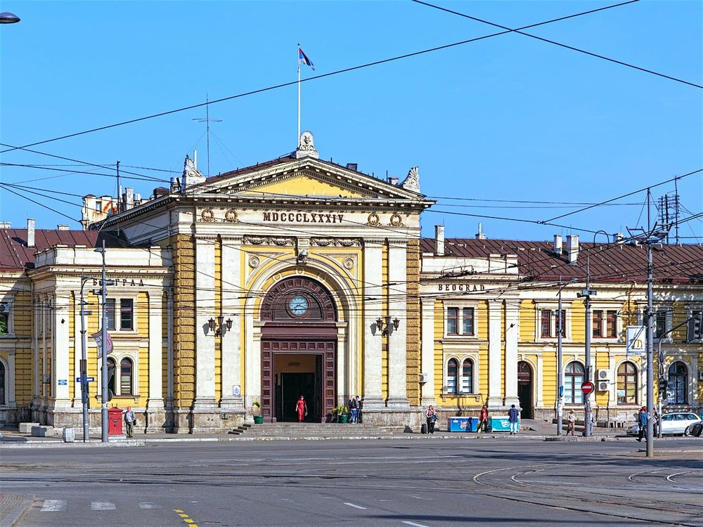 Belgrade's weathered train station, built in 1884 and a regular stop on the Orient Express © Mikhail Markovskiy / Shutterstock