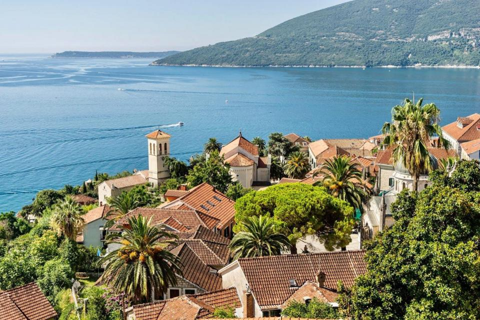 This seaside city of Montenegro offers the luxe of the Mediterranean at a cheap price. Photo courtesy of Herceg Novi Tourism.
