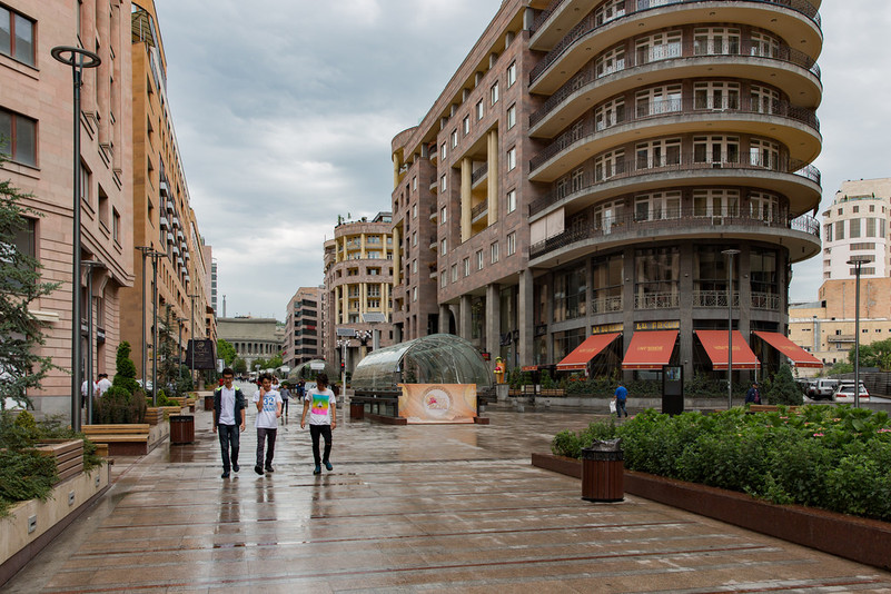 Yerevan. Building a truly democratic and corruption-free European state will mostly depend on the Armenian government's political will. (Photo: Dmitry Karyshev )