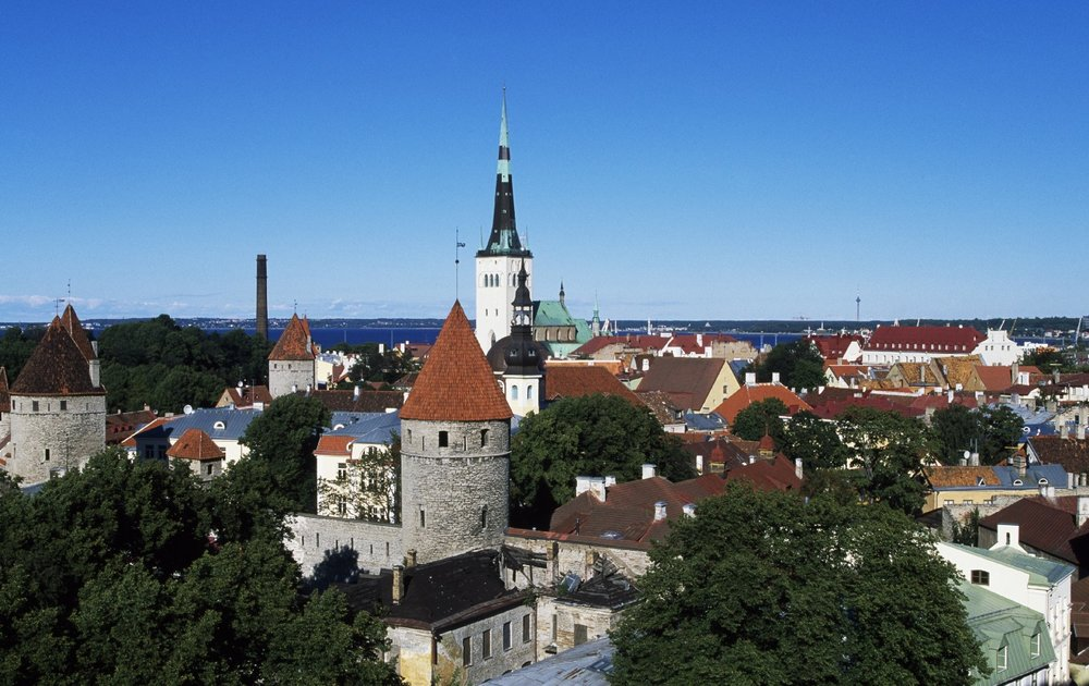 The Medieval Old Town of Tallinn, Estonia. Photo: DEA/De Agostini/Getty Images