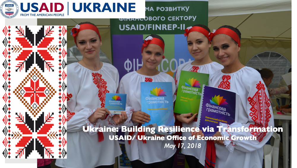 Ukraine: Building Resilience via Transformation