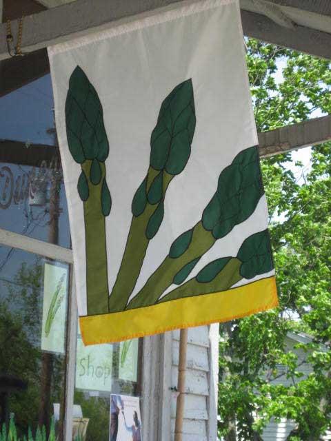 Asparagus Flag, Mays Lick, KY