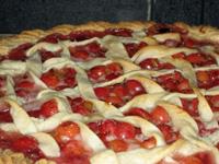 Homemade Kentucky Cherry Pie