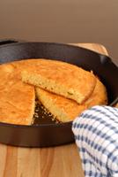 Cornbread in Skillet