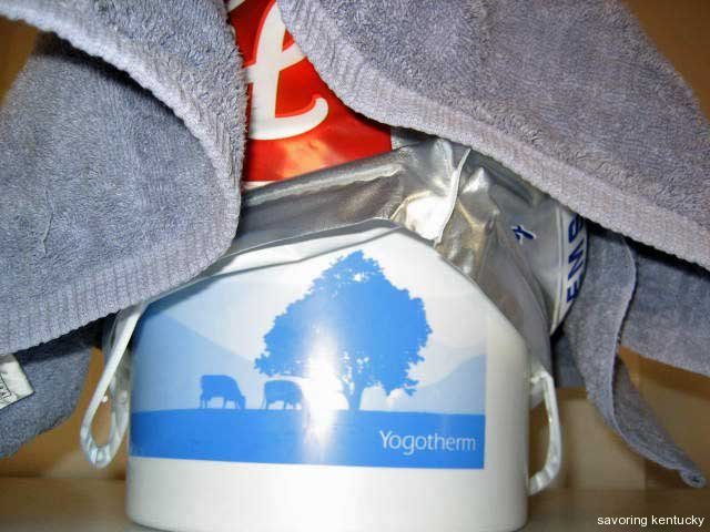 Yogotherm with blankets