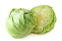 Cabbage, freshly cut
