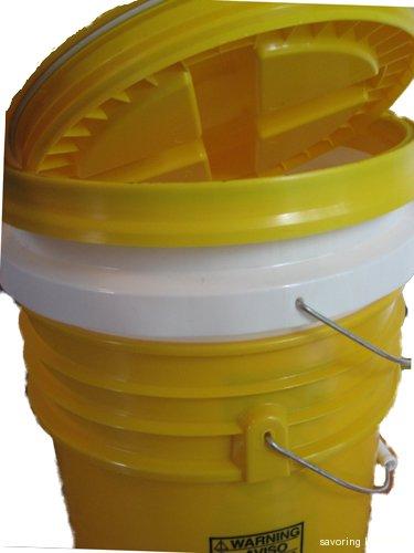 New Bokashi bucket compost system