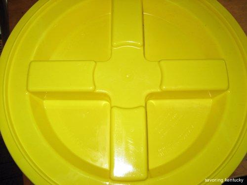 Gamma Seal lid for Bokashi (indoor porch) system