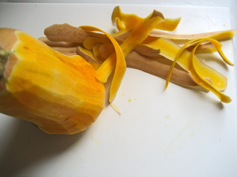 Peeled Elmwood Stock Farm Butternut Squash