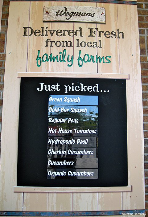 Wegmans Syracuse farm produce list