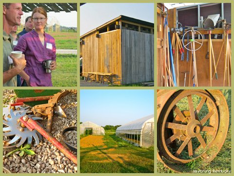 Images from the organic research farm at the University of Kentucky