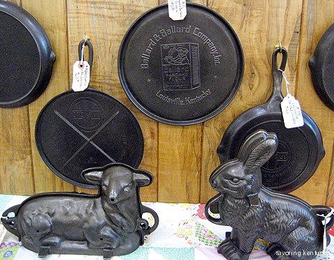 Heritage Cast Iron Cookware for specialty uses, from Jim Nance's collection