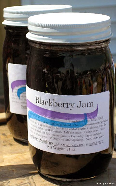 Sunflower Sundries Blackberry Jam, Kentucky