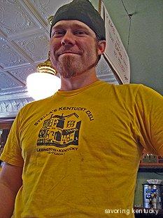 Les Miller, co-owner, Stella's Kentucky Deli and Al's Bar, Lexington, Kentucky