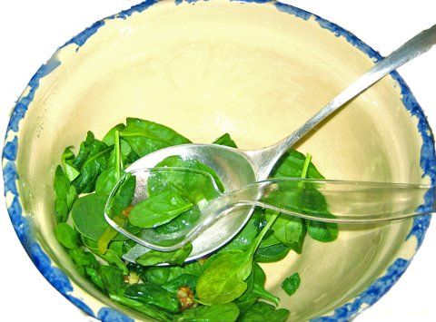 Baby Spinach Salad