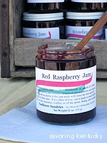 Sunflower Sundries Red Raspberry Jam, Kentucky