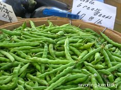Kentucky Greasy Beans at $7/pound on 9-18-10