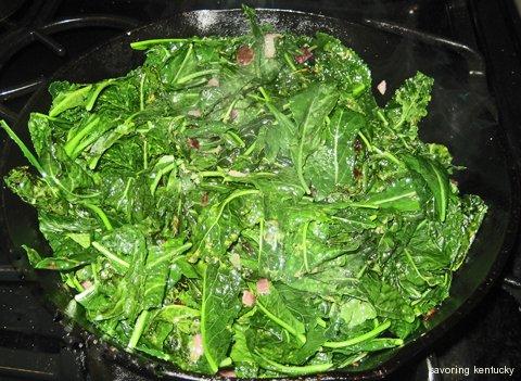 Sautéed Tuscan Kale