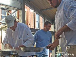 St. Joseph Healthcare chefs