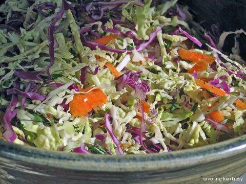 Cabbage-Herb-Veggie Summer Slaw