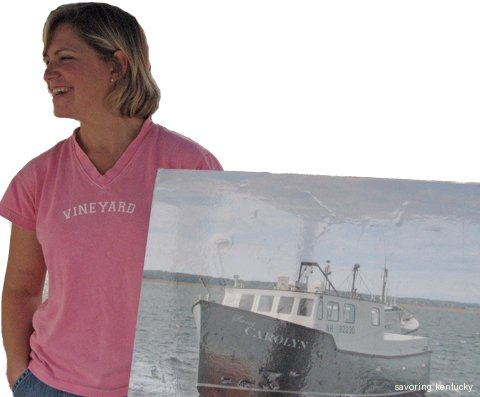 Carolyn Eastman, Eastman Seafood and her family's commercial fishing boat