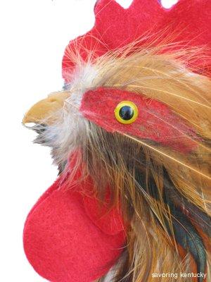 Elmwood Stock Farm's Mascot: Mac's Rooster
