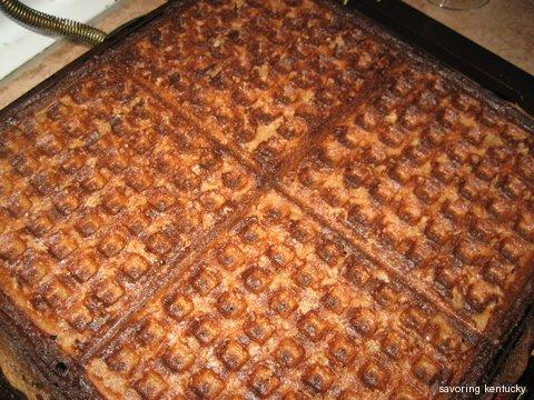 Perfect Crispy Light Teff Waffle