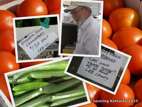 Roland MacIntosh brings extended season cucumbers and tomatoes to LFM